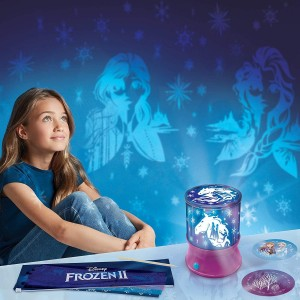 Make It Real Disney Frozen II ScratchArt Light Projector (4324)