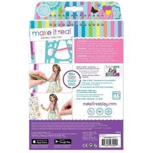 Make it Real - Fashion Design Sketchbook Blooming Creativity (3202)