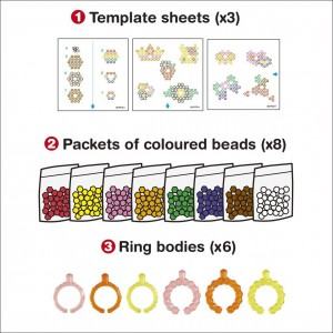 Aquabeads Dazzling Ring Set (79278)
