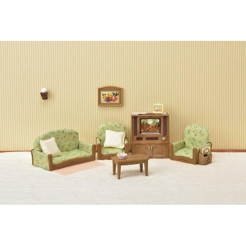 Sylvanian Families - Sylvanian Families Living Room & TV ...
