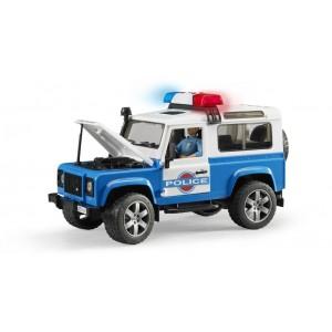 Αστυνομικό Land Rover station wagon με αστυνόμο (02597)