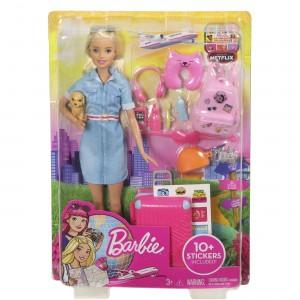 Barbie Dreamhouse Adventures Έτοιμη Για Ταξίδι (FWV25)