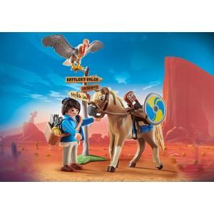 Playmobil The Movie H Mάρλα με το άλογο της (70072)