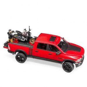 Φορτηγό Αγροτικό Ram με μηχανή Ducati Off Road με αναβάτη (02502)