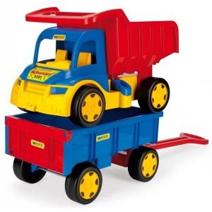 Φορτηγό Wader Gigant Truck με καρότσα (65100)