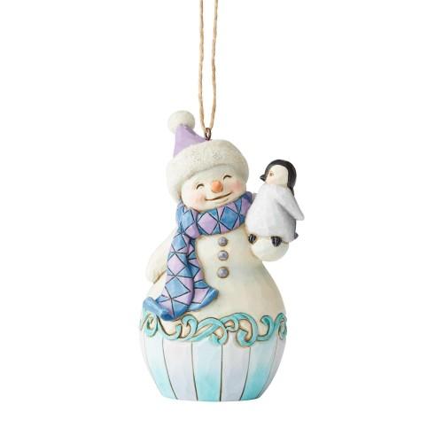 Στολίδι δέντρου Snowman with Penguin (6004314)