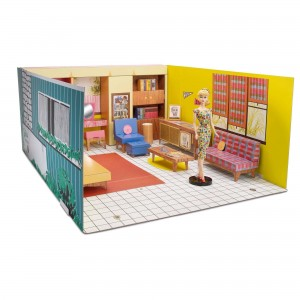 Barbie 75th Anniversary Retro Dreamhouse (GNC38)