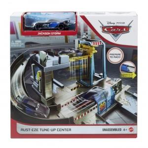 Cars Σετ παιχνιδιού Αγωνιστικό Συνεργείο (GJW43)