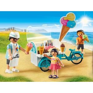 Παγωτατζής με ποδήλατο ψυγείο (9426)