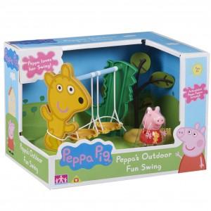 Peppa Pig Παιδική Χαρά Κούνιες (PPC21000)