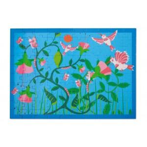 Scratch Puzzle 100τεμ Hummingbirds (6181093)