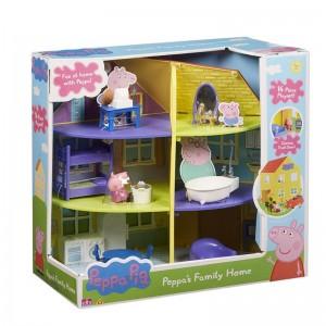 Peppa Pig Σπίτι με Δωμάτια της Peppa (PPC22000)