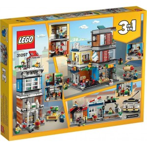 Lego Creator Townhouse Pet Shop & Cafe (31097)