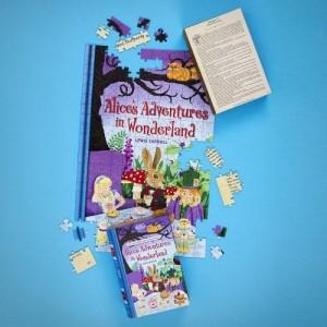 Puzzle 252τεμ Alice in Wonderland Διπλής Όψης (JL01)