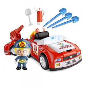 Pinypon Action Πυροσβεστικό Όχημα και Φιγούρα (700014610)
