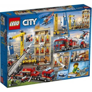 Lego City Downtown Fire Brigade (60216)