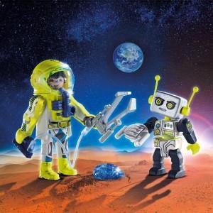Duo Pack Αστροναύτης και Ρομπότ (9492)