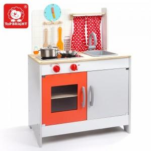 Top Bright Κουζίνα ξύλινη με αξεσουάρ (120323)