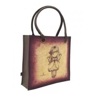 Τσάντα Shopper Gorjuss Ladybird