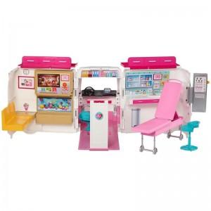 Barbie Κινητό Ιατρείο Ασθενοφόρο (FRM19)
