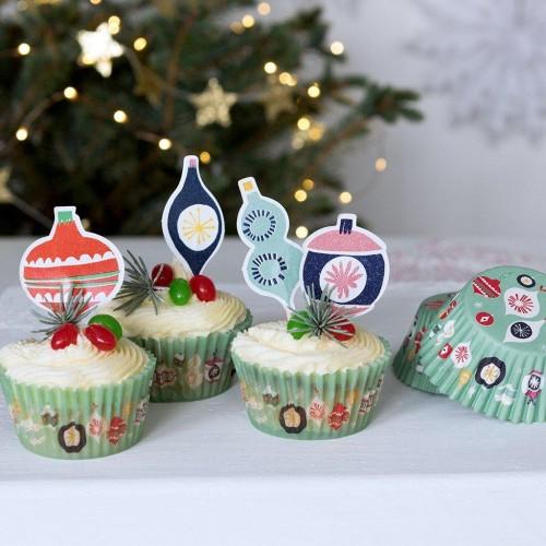 Cupcake kit Jolie Noel (27681)