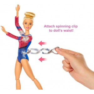 Barbie Αθλήτρια Ενόργανης Γυμναστικής (GJM72)