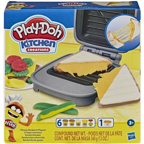 Play Doh Cheesy Sandwich Playset (E7623)