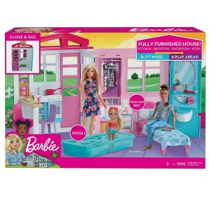 Barbie Nέο Σπιτάκι - Βαλιτσάκι (FXG54)