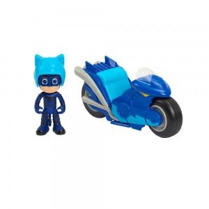 PJ Masks Kickback Μηχανή με Φιγούρα Catboy (PJMB8000)
