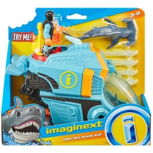 Imaginext Καρχαρίο-Όχημα Με Δύτη (GKG78/GKG80)