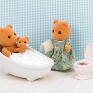 Sylvanian Families Bath and toilet set (5148)