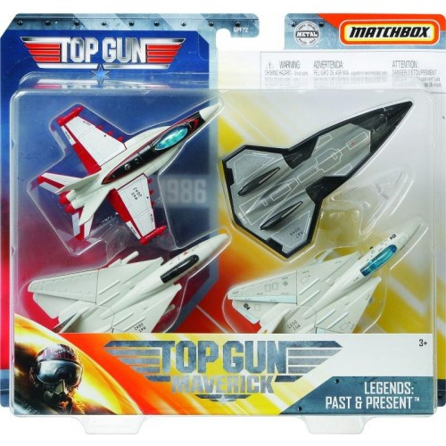 Matchbox Top Gun Αεροπλανάκια Σετ4 (GPF72)