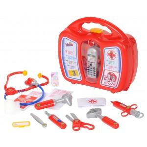 Βαλιτσάκι με ιατρικά εργαλεία και κινητό (4350)