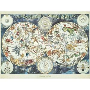 Puzzle 1500τεμ Ζωδιακός Χάρτης (16003)