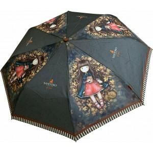 Ομπρέλα σπαστή Santoro London Gorjuss Autumn Leaves (6655)