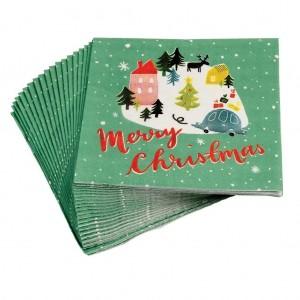 Χαρτοπετσέτες Χριστουγεννιάτικες Christmas Wonderland 20τεμάχια
