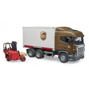 Φορτηγό UPS Logistics με κλαρκ (03581)