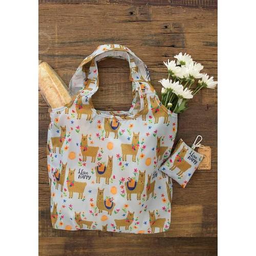 Τσάντα για ψώνια Llive happy Llama (52687)