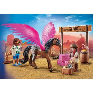 Playmobil The Movie Η Μάρλα και ο Ντελ στην Άγρια Δύση (70074)