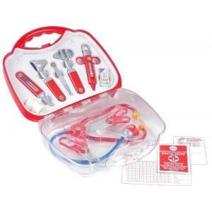 Βαλιτσάκι με ιατρικά εργαλεία Middle Transparent (4395)