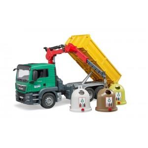 Απορριματοφόρο MAN Ανακύκλωσης (03753)