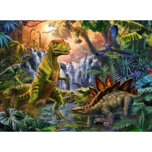 Puzzle 100XXLτεμ. Δεινόσαυροι (12888)