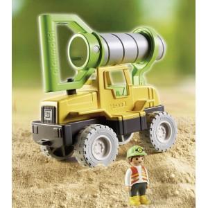 Εκσκαφέας με μηχανισμό γεώτρησης (70064)