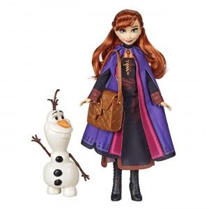 Disney Frozen II Storytelling Άννα Κούκλα Μόδας και Όλαφ (E6661/E5496)