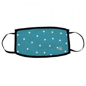Μάσκα ενηλίκων Blue Stars (69034)