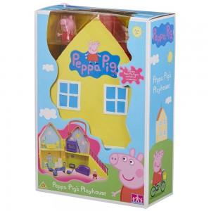 Peppa Pig Σπίτι με 1 Φιγούρα (GPH01469)