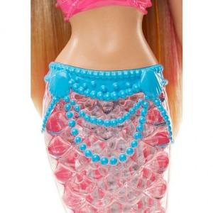 Barbie Γοργόνα Φωτεινή Ουρά (DHC40)