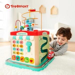 Top Bright Κύβος Προγραφής με Δραστηριότητες (120412)