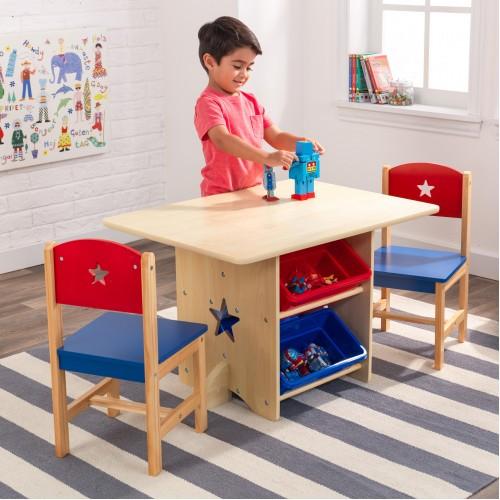 Τραπέζι και 2 καρέκλες Star (26912)
