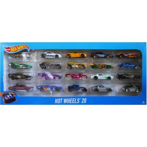 Hot Wheels Αυτοκίνητα σετ20 (H7045)
